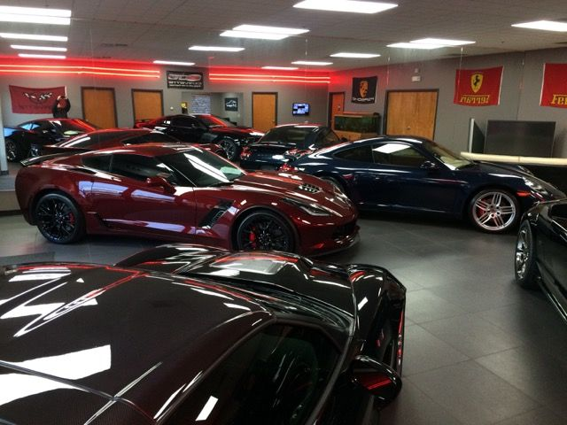 C and P Imports Showroom